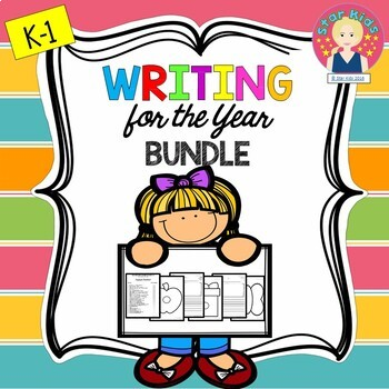 Graphic Organizers and Writing Templates for the Year {K-1}