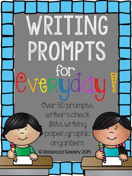 Writing Prompts For Everyday: Using Your Writer's Eye