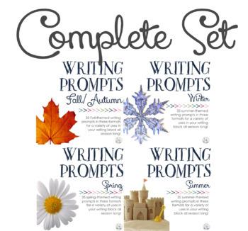 Writing Prompts: Four Seasons BUNDLE
