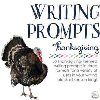 Writing Prompts: Thanksgiving