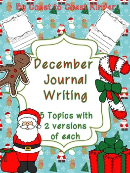 December- Writing Journals & Prompts