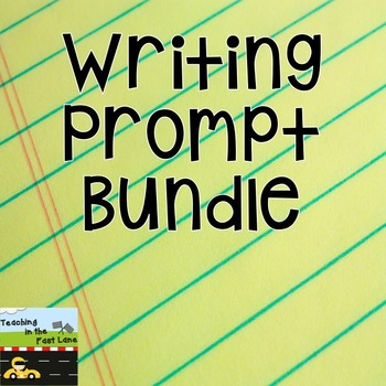 Writing Prompts Literacy Center Bundle