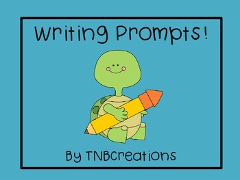 Writing Prompts Task Cards