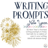 Writing Prompts: New Year