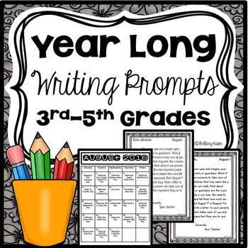 Writing Prompts (Year Long)