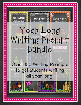 Writing Prompts Yearly Bundle