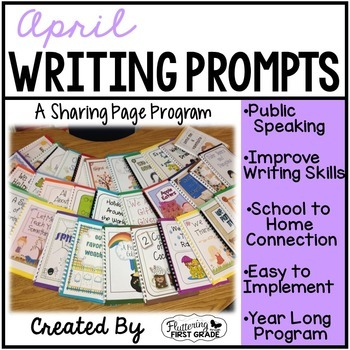 Writing Prompts for April Class Share Time