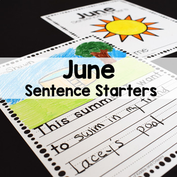 June Writing Prompts for Beginning Writers