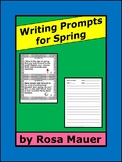 Spring Theme Writing Prompts journal Activities