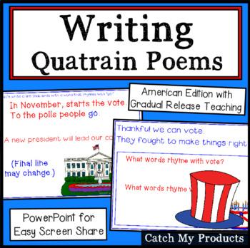 Writing Quatrain Poems (American Edition) Power Point
