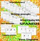 Writing & Reading Interactive Activities - Spanish Version