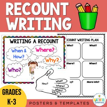 Writing Recounts Poster Set