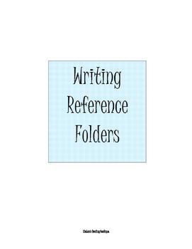 Writing Reference Folders