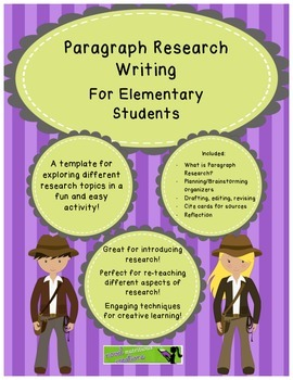 Short Focused Research - W.7 - Paragraph Research Template