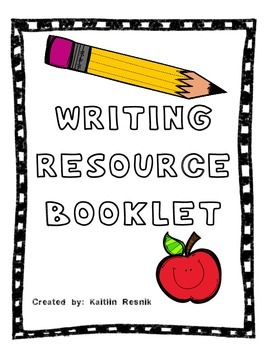 Writing Resource Booklet
