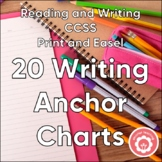 17 Writing Anchor Charts AND 17 Student Writing Notebook R