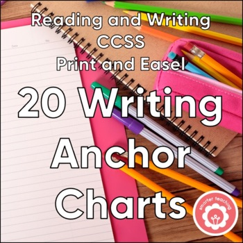 Writing Anchor Charts AND Student Writing Notebook Resourc