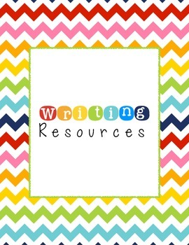 Writing Resources Binder Cover!