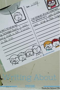 Writing Response to Emotions for Second and Third Grade