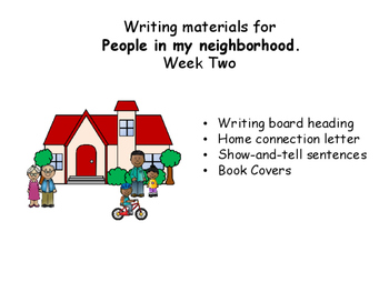 Writing Responses for Wonders, Unit 4, Week 2, Wonders, My