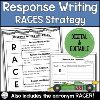 Writing Responses with RACES Strategy