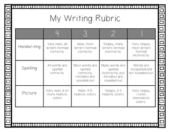 Writing Rubrics FREEBIE