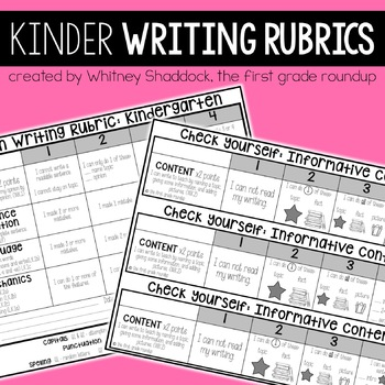 Writing Rubrics Kindergarten: Kid-Friendly Assessments and
