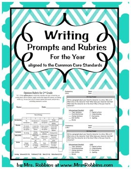 Writing Rubrics and Prompts for all year Narrative, Inform