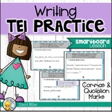 Writing SOL TEI practice {SMARTboard lesson}