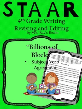 Billions of Blocks-STAAR Writing Revising and Editing