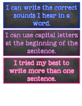 Writing Self Assessment