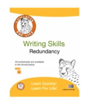 Writing Skills: Redundancy