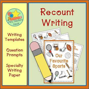 Recount Writing - Our Favourite Sports (Canadian Spelling)