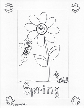 Writing Stationery Templates (Spring Holidays)