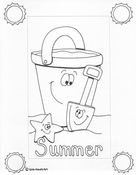 Writing Stationery Templates (Summer Holidays)