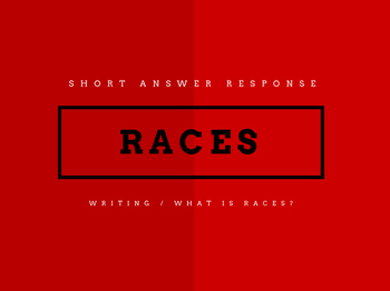 RACES (Writing Strategy) Presentation