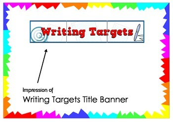 Writing Targets Title Banner