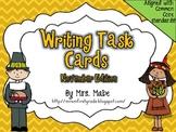 Writing Task Cards - November Edition