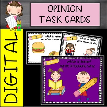 Writing Task Cards-Opinion