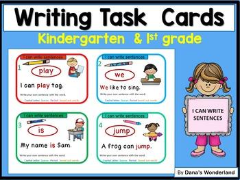 Kindergarten Writing Center Activities