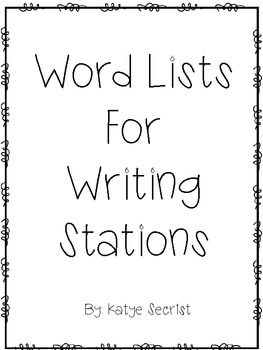 Writing Theme Lists for Stations