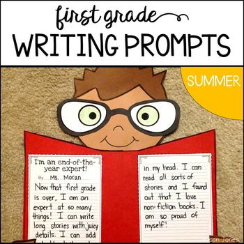 End of the Year Writing Prompts {Summer}