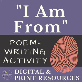 Identity Poem Writing Activity