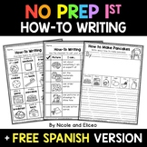 How-To Writing (anchor charts, checklists, organizers & st