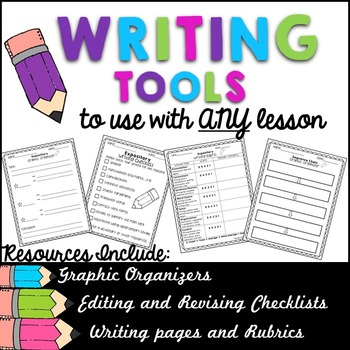 Writing Tools Resource Pack