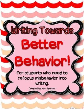 Writing Towards Better Behavior