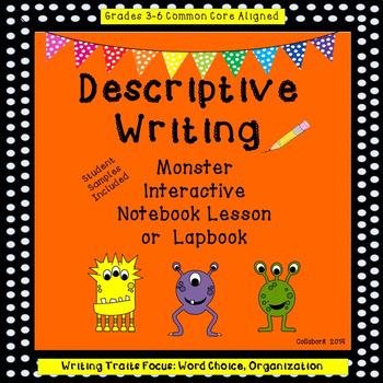 Halloween Monster Descriptive Writing