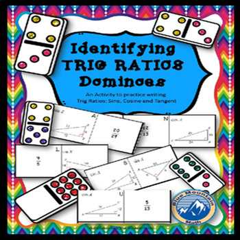 Writing Trig Ratios Domino Set
