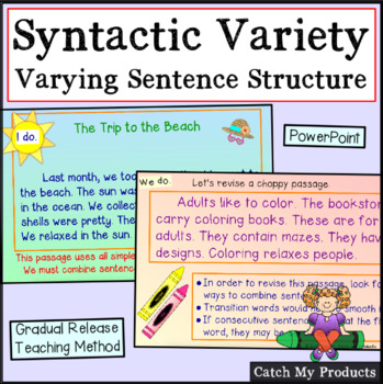 Writing: Using Syntactic Variety Power Point