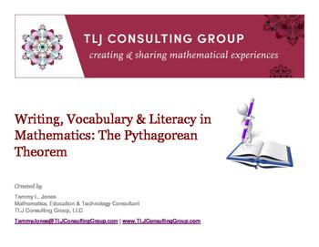 Writing, Vocabulary & Literacy in MS Mathematics: The Pyth